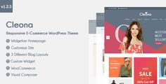Cleona Cleona is a E-Commerce WordPress theme designed with responsive style. This theme is very easy to use, customizable, has a neat and simple design, and mobile friendly.  Why choose Cleona as ...