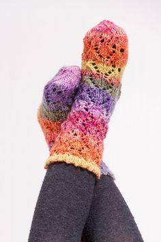 Kostenlose Anleitung: Socken mit Ajourmuster - Initiative Handarbeit