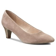 Półbuty CAPRICE - 9-22401-26 Taupe Suede 343
