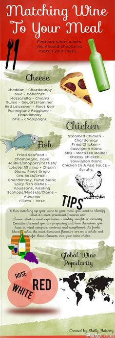 The Secret to Matching wine to your Meal  via http://www.robynwebb.com/fabulousfoodfinds/?p=4336