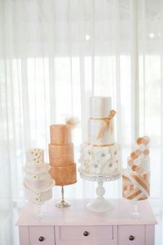 more than one wedding cake