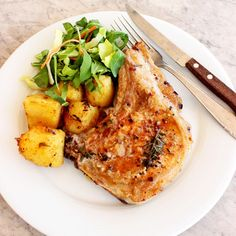 Spiced Pork Chops with Potatoes, inspired by Chef Ramsay by Loveinsoradise