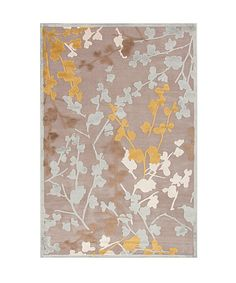 Blending subtle patterns with muted color palettes, this stylish rug perfectly marries form and function. Constructed from high-quality, stain-resistant materials and featuring abstract accents and fashion-forward designs, it's the perfect piece to complement any sophisticated space. Available in three sizesViscose / chenille