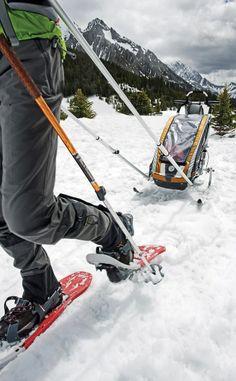 Ski toury dla rodzica, a przyczepka narciarska dla dziecka :-) Super zestaw! Do… Winter Fun, Winter Time, Cross County, Skate Style, Cross Country Skiing, New Adventures, Mount Everest, Rowan, Carrie