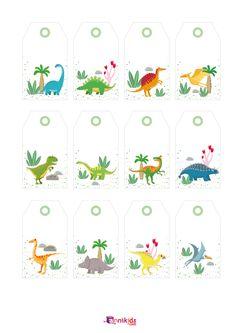 7 Printables Dino à imprimer gratuitement ! - Annikids, le blog