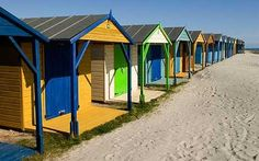 Beach huts at West Wittering