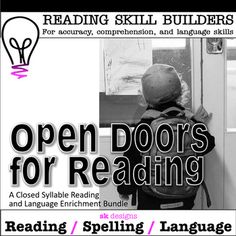 Closed Syllable Readers w Comprehension Extension Enrichment Activities Bundle - Realty Worlds Tactical Gear Dark Art Relationship Goals School Resources, Teaching Resources, Teaching Ideas, Enrichment Activities, Classroom Activities, Elementary Teacher, Teacher Pay Teachers, Teaching Reading, Learning