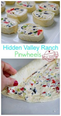 Ranch Pinwheel Bite-Sized Appetizer to feed a crowd – Easy to make-ahead appetizer for your party. The best tasting with Cream cheese, ranch, and crisp vegetables for a delicious bite-sized ranch pinwheel. Kid Friendly Appetizers, Appetizers For A Crowd, Finger Food Appetizers, Easy Appetizer Recipes, Healthy Appetizers, Easy Party Appetizers, Tortilla Pinwheel Appetizers, Easy Make Ahead Appetizers, Vegetable Appetizers