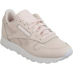 aa75f07a0774e Reebok Classic Leather Pastel Women s Running Sneaker ( 80) ❤ liked on  Polyvore featuring shoes