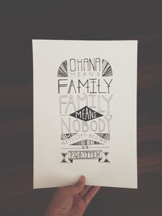 Ohana Means Family by MichelleSeeShell on Etsy