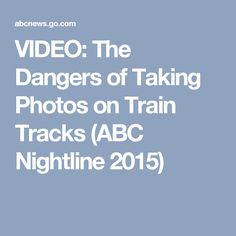216 Best Rail Safety - No Portraits On Tracks! images in