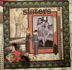Teri Rice ~ Scrapbook Layout Graphic 45 Couture