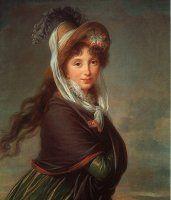 Regency Portrait by Vigee' le Brun