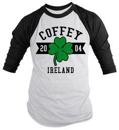 Men/'s Irish Team Camo//Black Raglan Hoodie Ireland Pride Shamrock Flag Athletic
