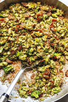 Health Salad Recipes, Healthy Low Carb Recipes, Broccoli Recipes, Cauliflower Recipes, Frozen Vegetables, Veggies, Meat Diet, Skillet Meals, Baked Salmon