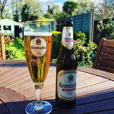It's Krombacher time! #gardening #thealders (at Hampton Common)