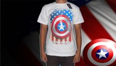 Kaos Superhero, Ironman dan Captain America, hanya Rp 70.000 | Kaskus - The Largest Indonesian Community