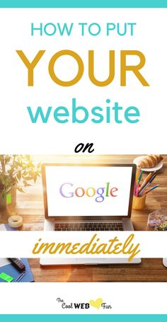 Put your website on google right now. The xml tutorials to submit url and get site indexed in few hours. http://www.coolwebfun.com/how-to-get-your-website-on-google/