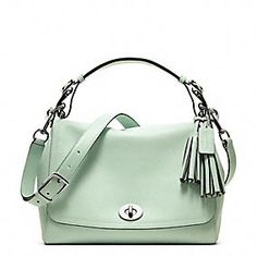 Coach Legacy Leather Romy Top Handle...love it, wish it was pink!