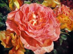 Lyn Diefenbach is a representational Australian artist in Oil and Pastel. The pursuit of masterly quality and technique is a high priority for Lyn Diefenbach whose work is imbued with a. Kids Watercolor, Watercolor Disney, Watercolour, Realistic Drawings, Detail Art, Funny Art, Flower Art, Art Flowers, Botanical Art