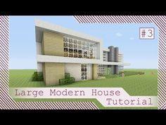 Large Modern House Tutorial #3 - Minecraft Xbox/Playstation/PE/PC/Wii U - YouTube