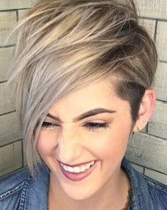 Short Pixie Cuts for St. Patrick's Day 2019 If you are looking for best short pixie cuts for St. Patrick's Day then we can say that in the St. Pixie Cut Color, Hair Color And Cut, Pixie Cuts, Short Pixie, Hair Colour, Short Hair Cuts, Stylish Short Haircuts, Popular Short Haircuts, Great Haircuts
