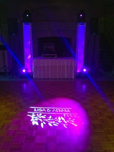 www.mikedupproductions.net  lighting & DJ'ing for a wedding