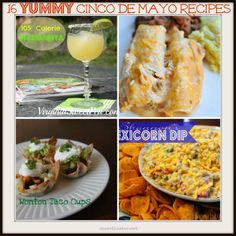 16 Cinco de Mayo Recipes! #mexican #food #recipe