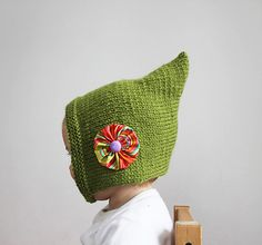 Ravelry: iddy Biddy Pixie Bonnet pattern by Kristi Morrow