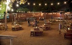 Lustre Pearl, a laidback Austin bar in the nearby Rainey Street District