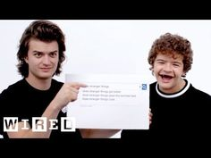 Stranger Things Cast Answer the Web's Most Searched Questions | WIRED - YouTube