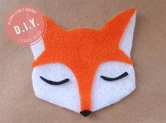 She's Crafty! This week's darling DIY takes one very fun fox you can turn into a pin for your jacket or even a holiday ornament. Create your own party animal today! @Alana Jones-Mann #fossil
