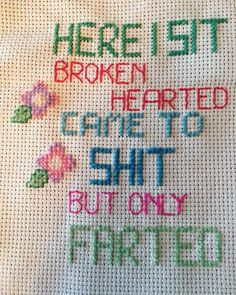 Cross Stitching, Cross Stitch Embroidery, Hand Embroidery, Cross Stitch Patterns, Needle And Thread, Keychains, Needlework, Knit Crochet, Diy And Crafts