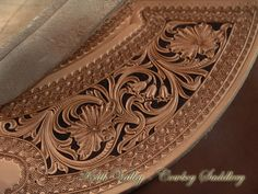 A photo gallery of custom saddles made by Cowboy Keith Valley