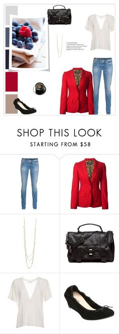 """""""Untitled #73"""" by pace21 ❤ liked on Polyvore featuring Denim & Supply by Ralph Lauren, Dolce&Gabbana, TALLY WEiJL, Proenza Schouler, IRO and Dune"""