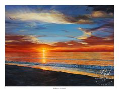 """""""Demara's Sunrise"""" by Lucy McTier - Archival Print"""