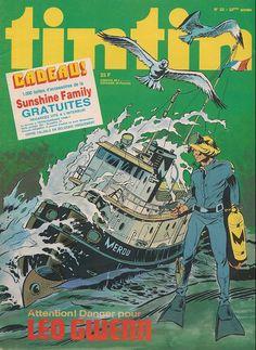 Le Journal de Tintin - Edition Belge - N°  1603 - 1977-23 - Mardi 7 Juin 1977 - Couverture : Daniel Hulet