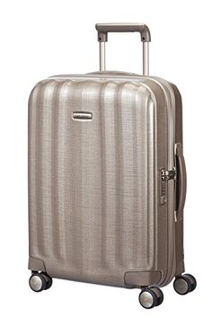 be28bec308e7e Samsonite Lite Cube Carry On Suitcase in Ivory Gold - 5414847449130 For  Sale