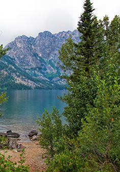 Jenny Lake. Grand Teton National Park, Wyoming.