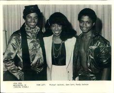 Michael & Randy Jackson w/ Jean Carn