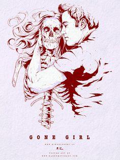Gone Girl alternative poster art