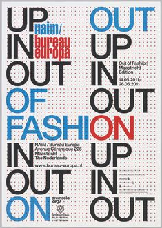 Poster, Out of Fashion, 2011