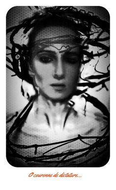 Et de ma joie, ô couronne de dictature Debout sur mes deux yeux, ma bouche et mon cerveau O la couronne en rêve à mon front somnambule, Hallucine-moi donc de ton absurdité ; Et sacre-moi ton roi souffrant et ridicule.  Émile VERHAEREN (1855-1916)