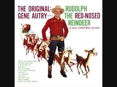 Enjoy the History of Rudolph the Red-Nosed Reindeer with me! My mother played her Gene Autry Christmas album, which included Rudolph The Red-Nosed Reindeer. Christmas Albums, Christmas Past, Retro Christmas, Vintage Holiday, Christmas Carol, Christmas Movies, Xmas, Christmas Videos, Christmas Ukulele