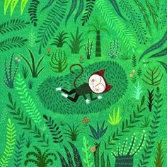 patternprints journal: COLORFUL PATTERNS INTO ILLUSTRATED BOOKS BY MARIANA RUIZ JOHNSON