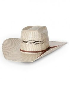 96b4194395ab7 American Hat Company® Two Tone Brick Straw Hat - Fort Brands Western Cowboy  Hats