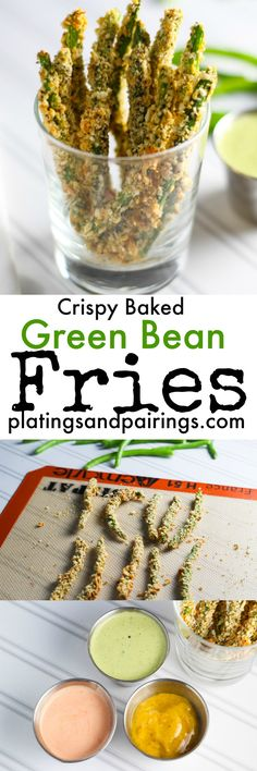 Such a healthy way to get my Crispy Green Bean fix - Who needs a deep fryer!