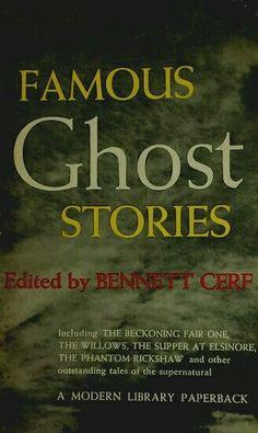 Modern Library, 1956. Bennett Cerf, Modern Library, Ghost Stories, Supernatural, Movie Posters, Modern Bookshelf, Film Poster, Popcorn Posters, Film Posters