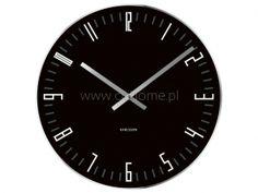 Zegar ścienny KARLSSON Slim Index szklany czarny  http://www.citihome.pl/zegar-scienny-karlsson-slim-index-szklany-czarny.html