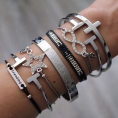 ♡ Good friends are like stars : you don't always see them but you know they are always there ♡ www.armbandonlinekopen.nl